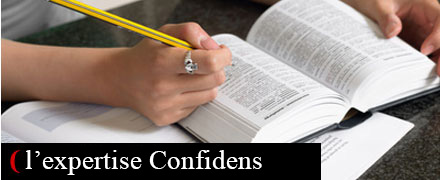 L'expertise Confidens